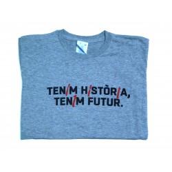Samarreta noia grisa tenim història, tenim futur