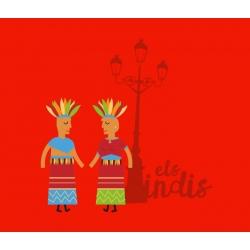 Samarreta gegants els indis