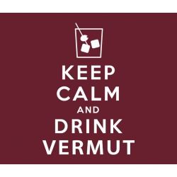 Samarreta Keep calm and drink vermut