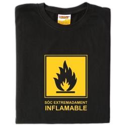 Samarreta Sóc extremadament inflamable