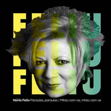 CD Núria Feliu Paraules, paraules
