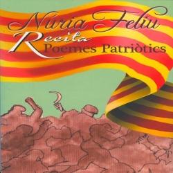CD Núria Feliu Recita poemes patriòtics (Llibre + CD)