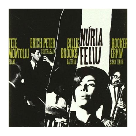 CD Núria Feliu T.Montoliu/Erich Peter/Booker Ervin/Billie Brooks