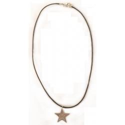 penjoll amb estel de plata