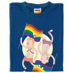 Samarreta unisex Orgull gai parella capicuada