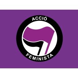 Bandera-domàs Acció Feminista