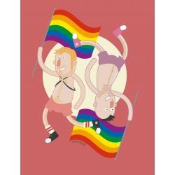 Samarreta NOIA Orgull gai parella capicuada