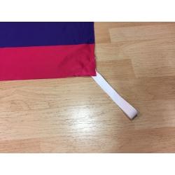 Bandera estelada roja - Arc de Sant Martí