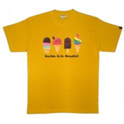 Samarreta unisex Orgull estil aquarel·la
