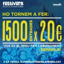 Abonament low-cost Festivern 2017-2018