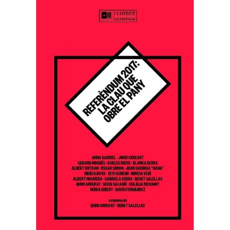 """Llibre """"Referèndum 2017. La Clau que obre el pany"""""""