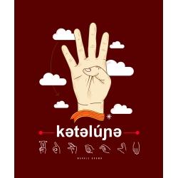"Samarreta unisex ""Catalunya - votem"" en llengua de signes"