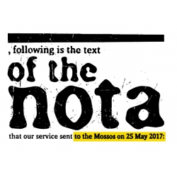 Samarreta Of the nota