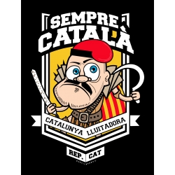 Samarreta unisex República Catalana - Montjuïc