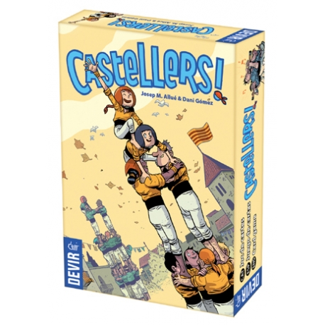 "Joc de taula ""Castellers"", de Devir"