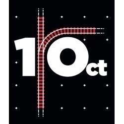 Samarreta unisex 1-Oct vies tren