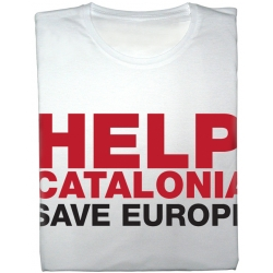 Samarreta Help Catalonia - Save Europe