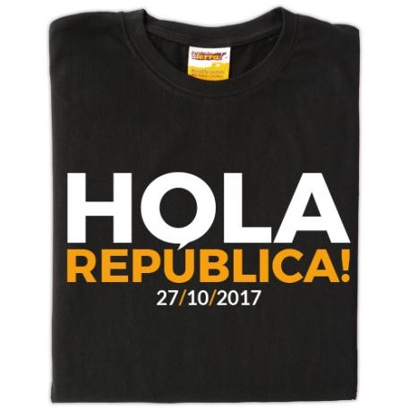 Samarreta unisex Hola República catalana