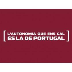Samarreta L'autonomia de Portugal