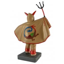 Figura de goma reproducció dels Diables de Vilafranca