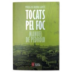 """Llibre """"Tocats pel foc"""""""