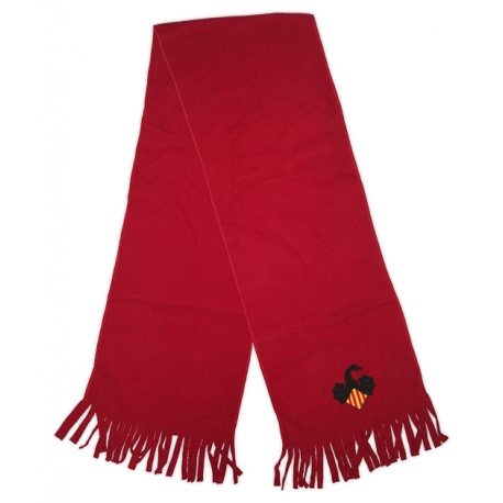 Bufanda vermella Drac