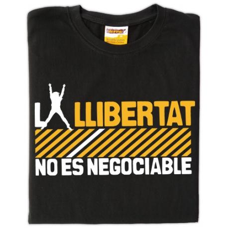 Samarreta La llibertat no és negociable