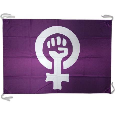 Bandera símbol feminista