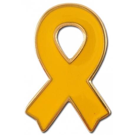 pin Llaç groc suport presos politics