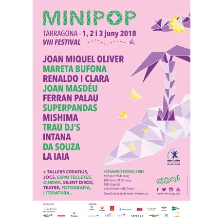 Abonament anticipat Minipop 2018