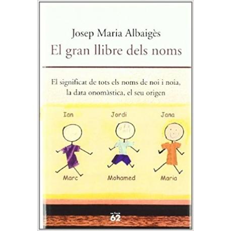 Llibre El gran llibre dels noms