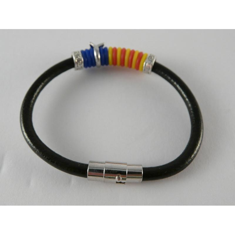 388432a4c005 Braçalet negre Estelada de colors
