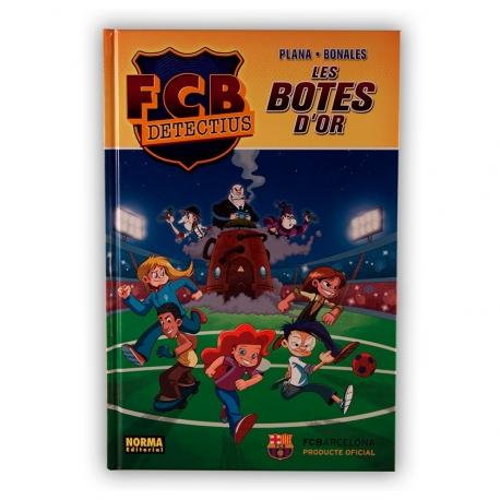 Còmic FCB Detectius - Les botes d'or