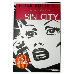 Còmic Sin City 2 - Mataria per ella