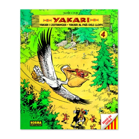 Còmic Yakari VOL.4