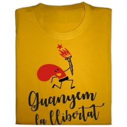 Samarreta Guanyarem la llibertat