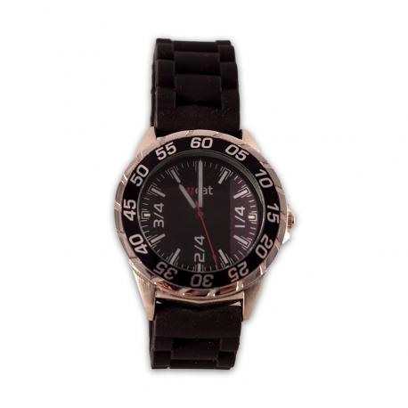 Rellotge Home Quarts de Tres negre