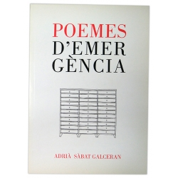 Llibre Poemes d'emergència
