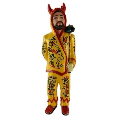Figura de goma del Diable de Vilanova i la Geltrú