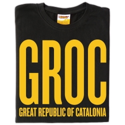 Samarreta GROC - Great Republic of Catalonia