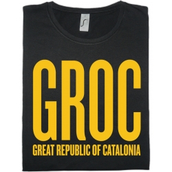 Samarreta NOIA GROC - Great Republic of Catalonia