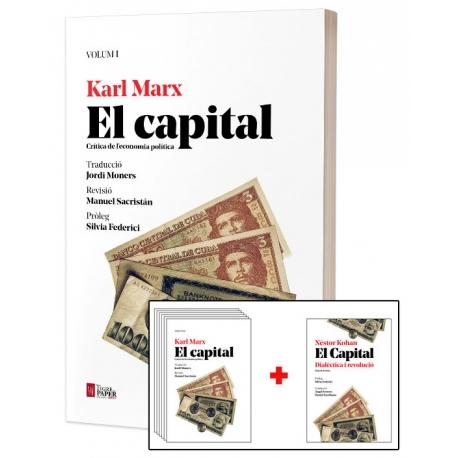 Llibre El capital de Karl Marx - 6 volums i guia