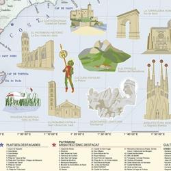 Mapa de la República Catalana
