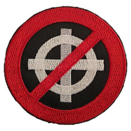 Brodat antifeixista símbol prohibició