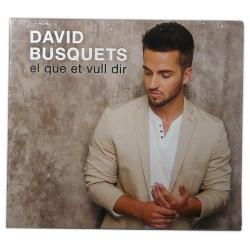 CD DAVID BUSQUETS - El que et vull dir