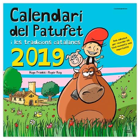 Calendari del Patufet i les tradicions catalanes 2019