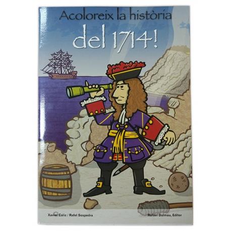 Llibre Acoloreix la història del 1714