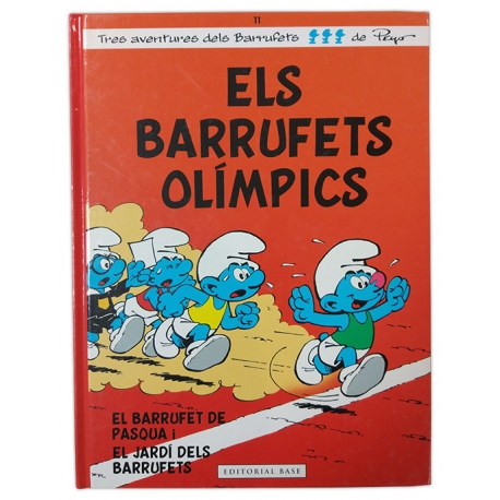 Llibre Els barrufets olímpics