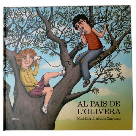 Llibre Al país de l'olivera Xavi Sarrià