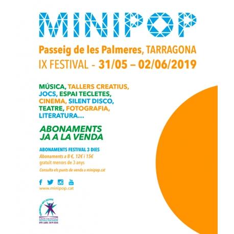 Abonament Festival Minipop 2019